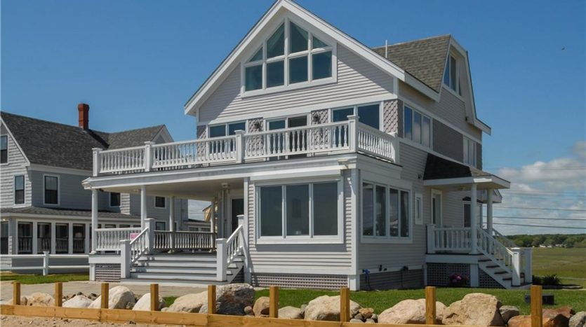 Oceanfront for Sale 206 Webhannet Drive Wells, Maine